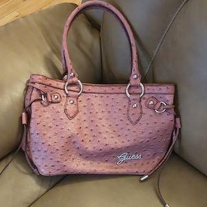NWOT Guess Stunning Pink Shoulder Bag